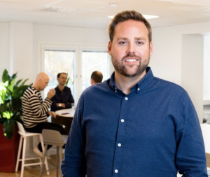 Christoffer Nilsson, VD Smiling Workplaces.