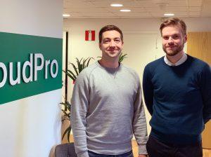 Pierre Thelander och Victor Svärd.
