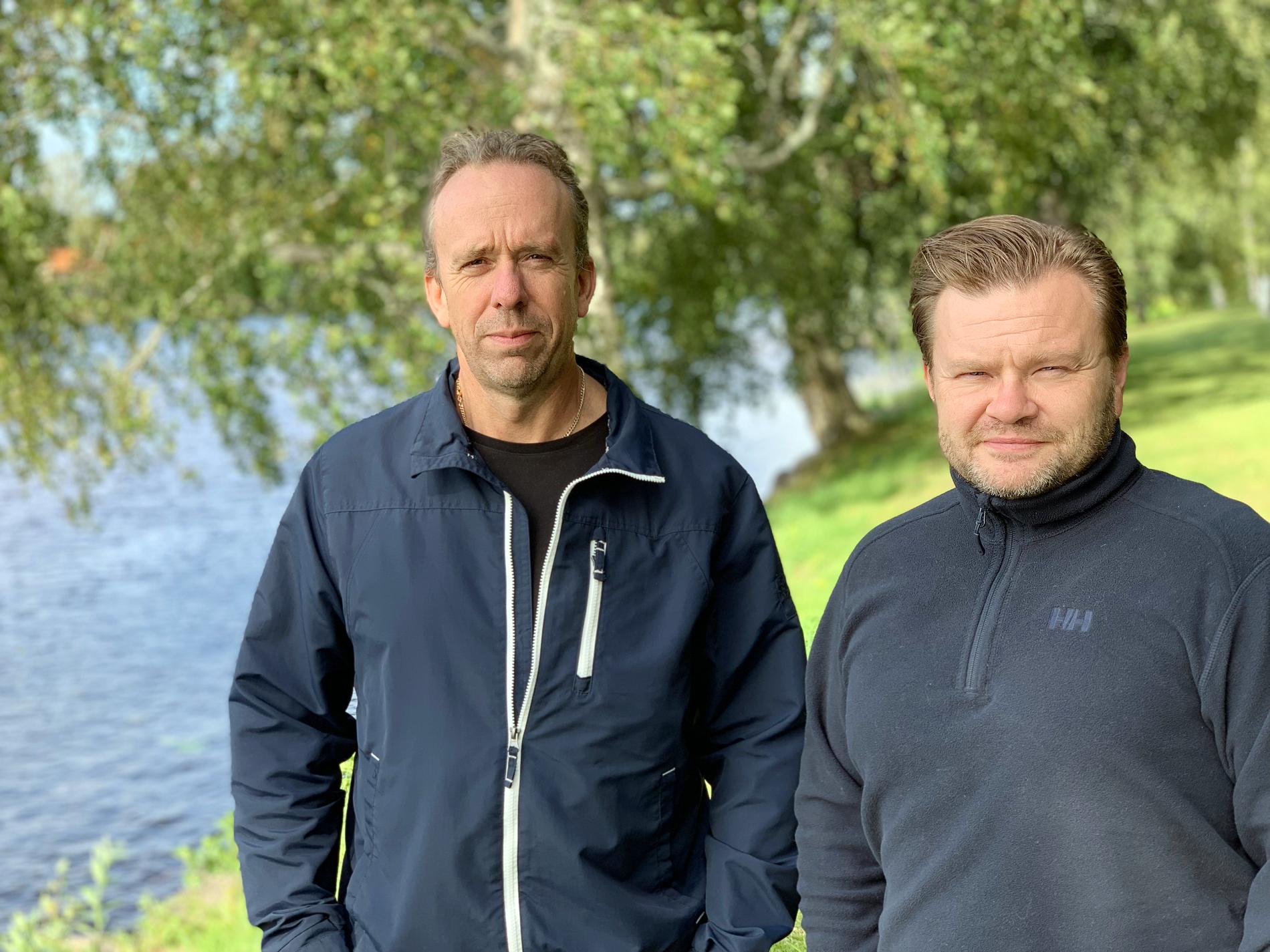 Henrik Oscarsson och Morgan Sundkvist, erfarna tekniker som förstärker CloudPro.