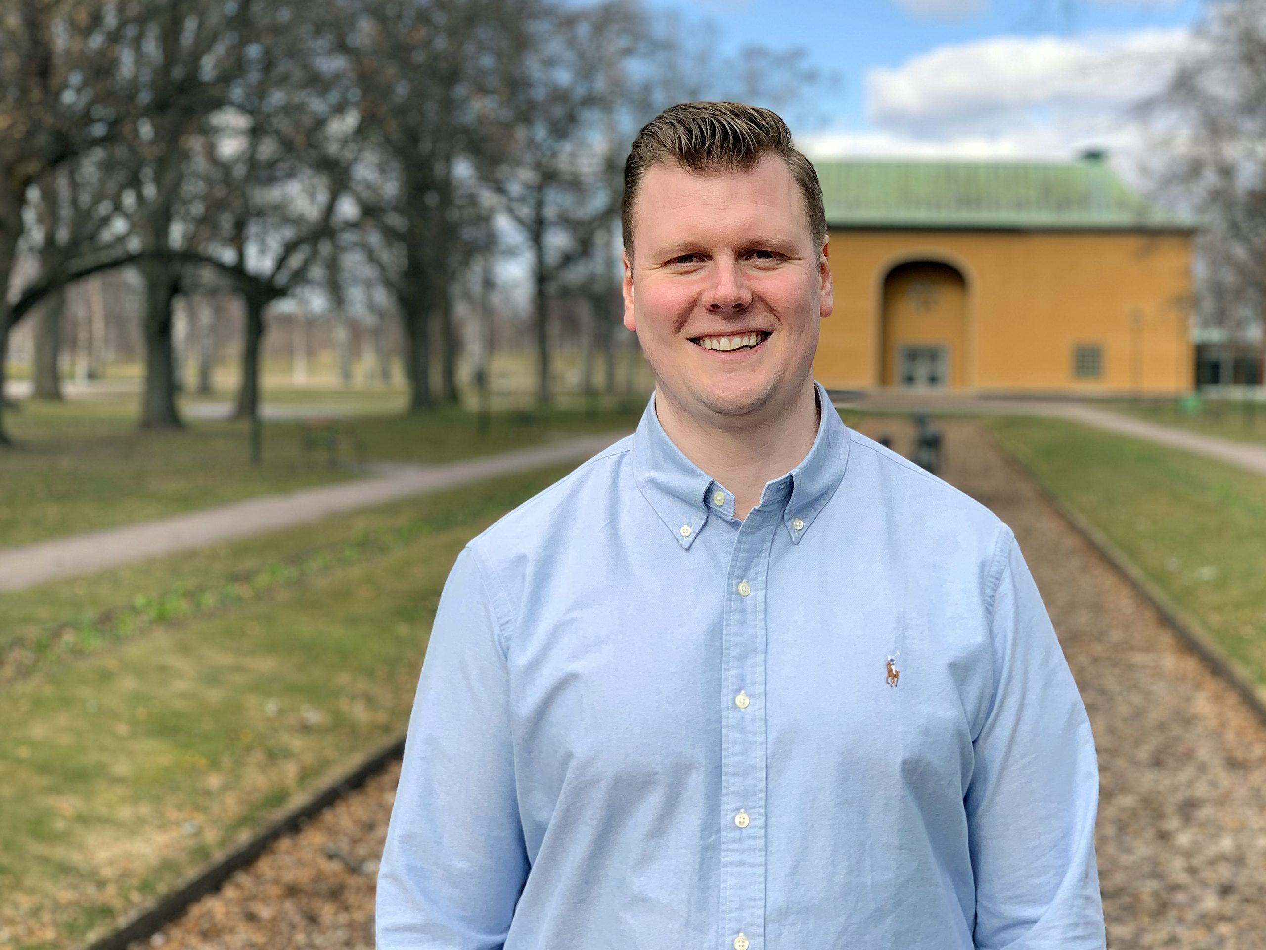 Daniel Stiglert kliver in i rollen som key account manager med kundrelationer.