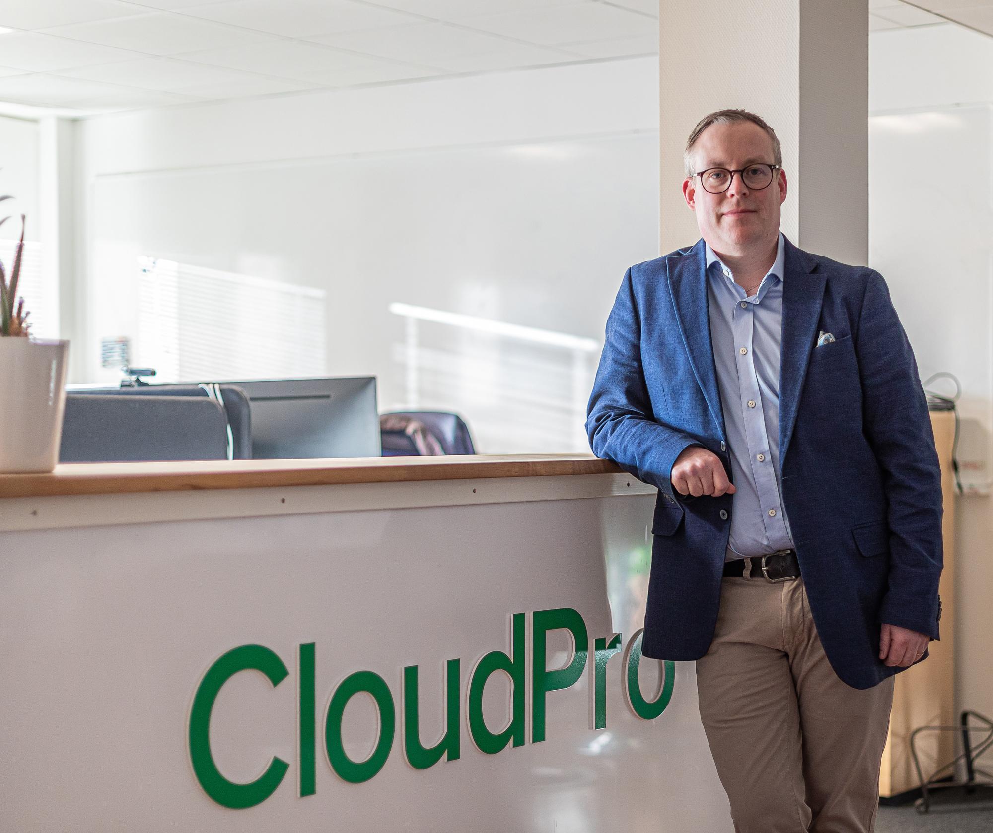 Anders Rådman tillträder som vd för CloudPro.